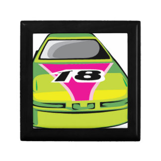 green race car jewelry boxes