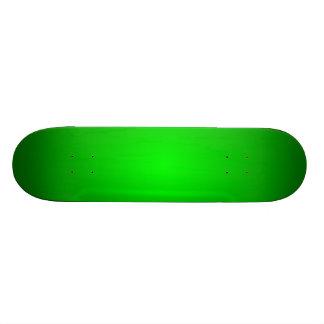 Green Radial Fades Skate Boards