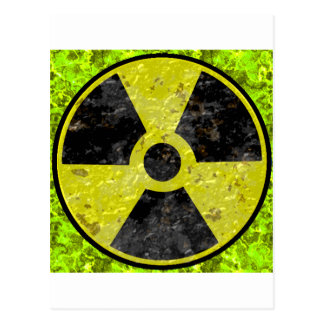 Green Radiation Postcard