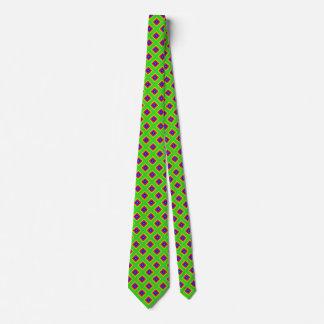 Green Rainbow Diamond Geometrical 2 Tie