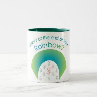 Green Rainbow Products Two-Tone Coffee Mug