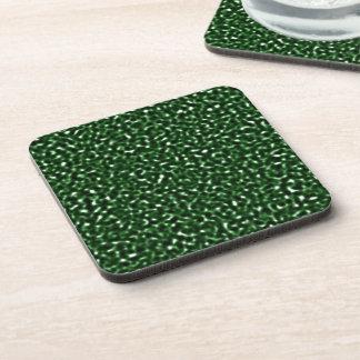 Green Randomness Drink Coaster