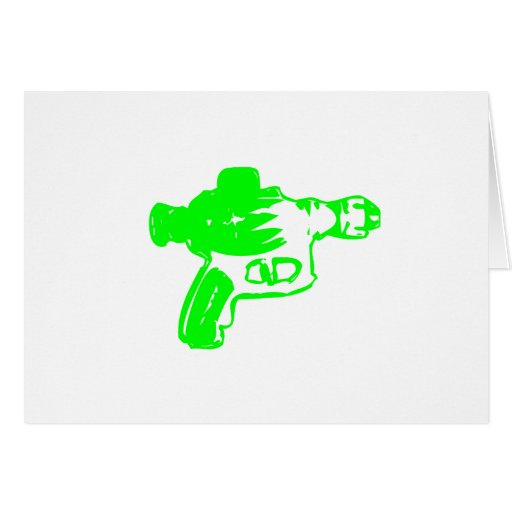 Green Raygun Cards