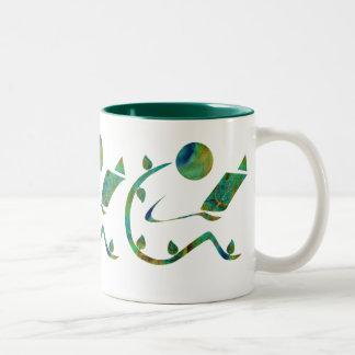 Green Reader Mug