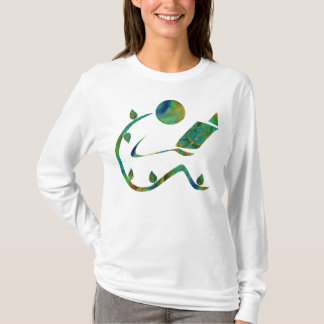 Green Reader One Sided Shirt