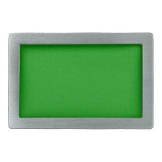 Green Rectangular Belt Buckle