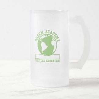 Green Recycle Academy Mugs
