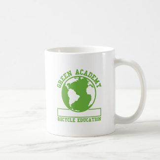 Green Recycle Academy Coffee Mugs