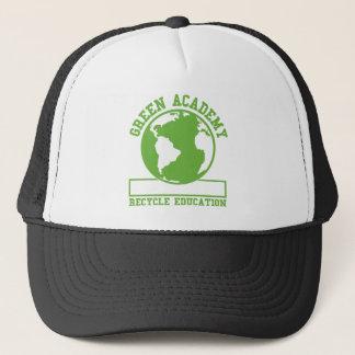 Green Recycle Academy Trucker Hat