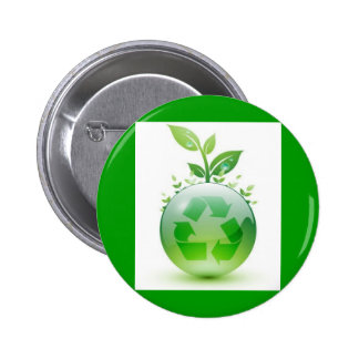 green-recycle-img pinback button