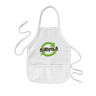 Green Recycle Kids' Apron