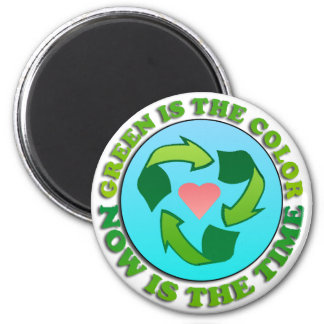 Green Recycle Magnet