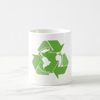Green Recycle Recycling Coffee Mug