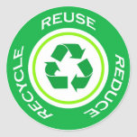 Green recycle - Sticker