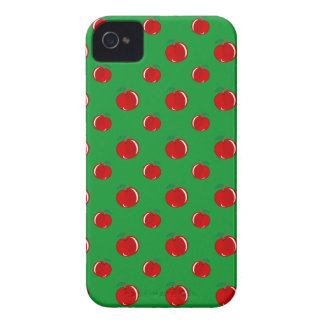 Green red apple pattern blackberry bold covers