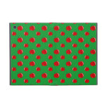 Green red apple pattern iPad mini covers