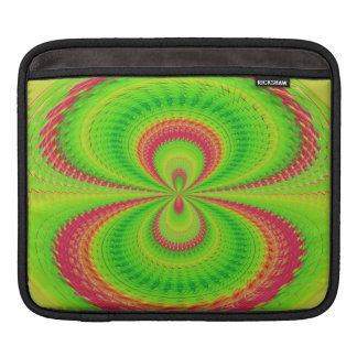 Green red ball sleeve for iPads