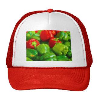 Green Red Bell Peppers City Farmer's Market KC Hats