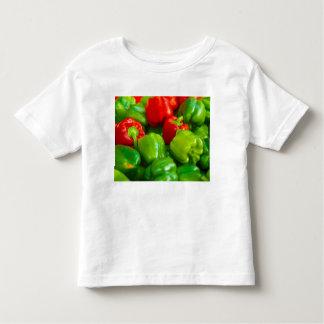 Green Red Bell Peppers City Farmer's Market KC Shirt