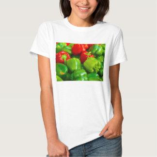 Green Red Bell Peppers City Farmer's Market KC T Shirt