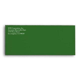 green red Christmas Envelope