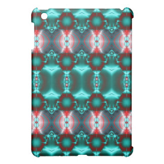 Green red Circle Pattern Abstract iPad Mini Cases