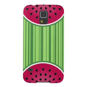 Green Red Watermelon Design Case For Galaxy S5