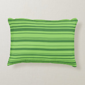 Green Red Watermelon Design Decorative Pillow
