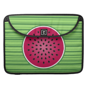 Green Red Watermelon Design MacBook Pro Sleeve