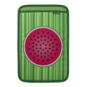 Green Red Watermelon Design Sleeve For MacBook Air