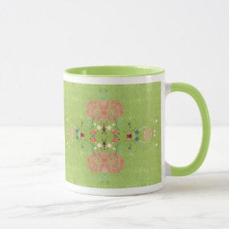 Green Reflection Mug
