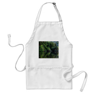 Green Reflections... Adult Apron