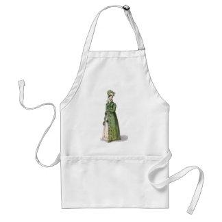 Green Regency Lady Adult Apron