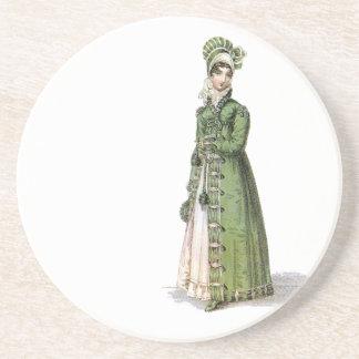 Green Regency Lady Coaster