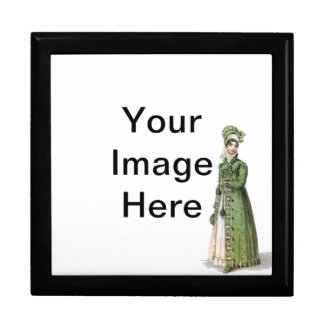 Green Regency Lady Gift Box