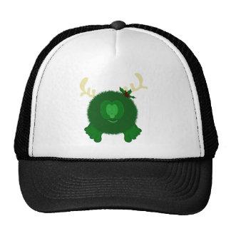 Green Reindeer Pom Pom Pal Hat