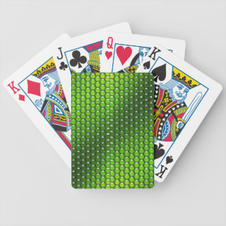 Green Reptile Bicycle Card Deck