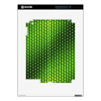 Green Reptile Skin For The iPad 2