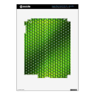 Green Reptile iPad 3 Decal