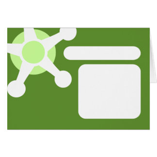 green retro jax. card