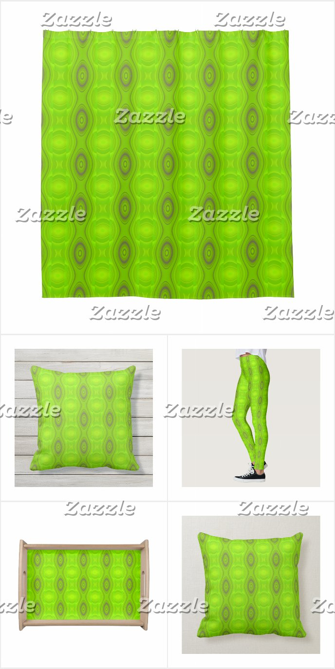 Green Retro Pattern