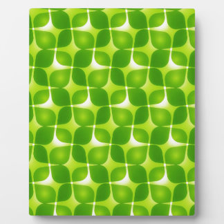 Green Retro Style Plaque