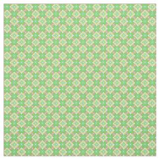 Green retrospective pattern fabric Part 1