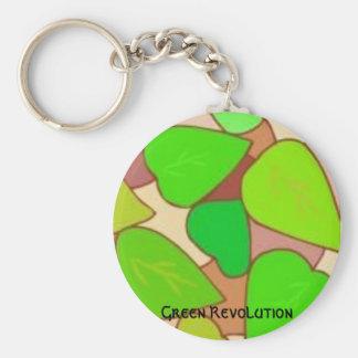 Green Revolution key chain