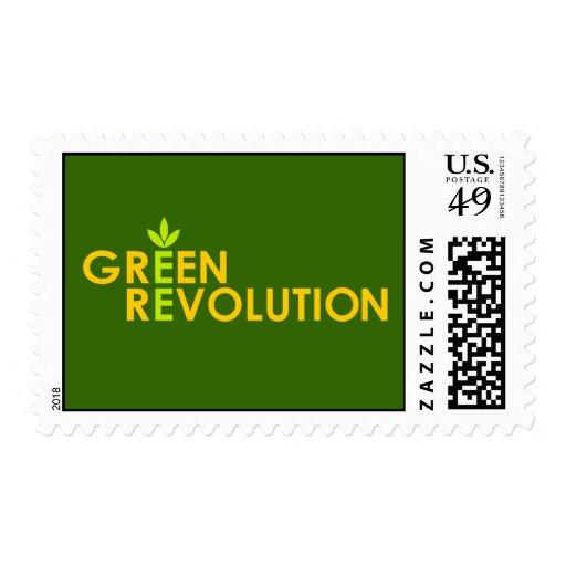 Green Revolution Postage