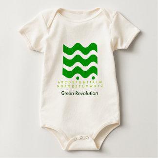 Green Revolution - Start it with Kids Baby Bodysuit