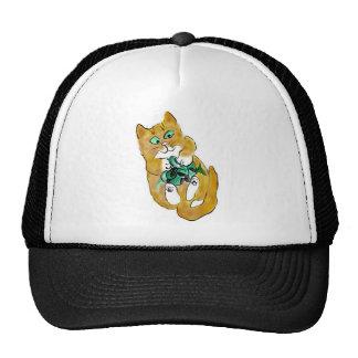 Green Ribbon Attack by Kitten Hat