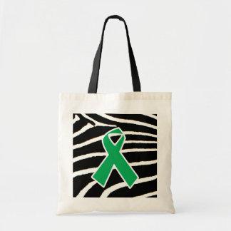 Green Ribbon Bag