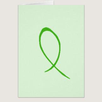 Green Ribbon Card