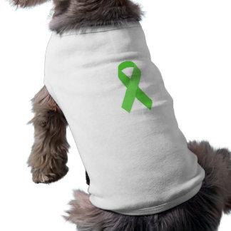 GREEN RIBBON CAUSES Organ & Tissue Donors, Mental Shirt